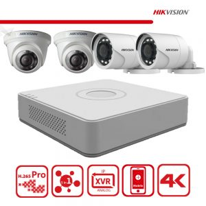 Hikvision Camera HD CCTV Kit (Build your own)