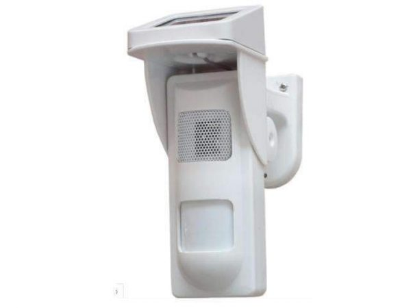 EC Solar Stand Alone Wireless Outdoor Sensor and Alarm System