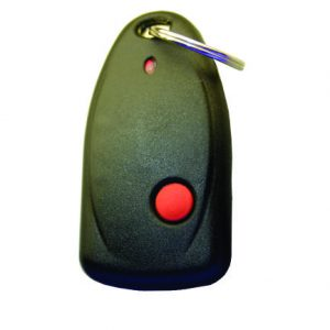 Sherlotronics 1 Button Key Ring Remote with code hopping