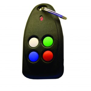 Sherlotronics 4 Button Key Ring Remote with code hopping