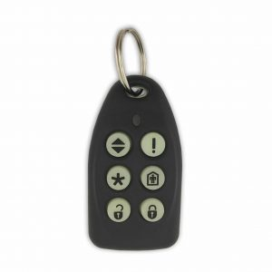 Sherlotronics 6 Button Glow in the Dark Remote with code hopping