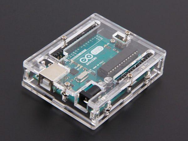 Arduino Uno Transparent Case