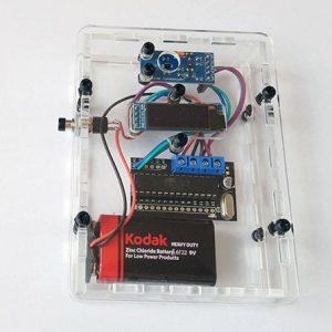 DIY Lux meter kit to measure light intensity