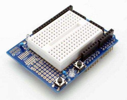 Prototyping Shield with Mini Breadboard