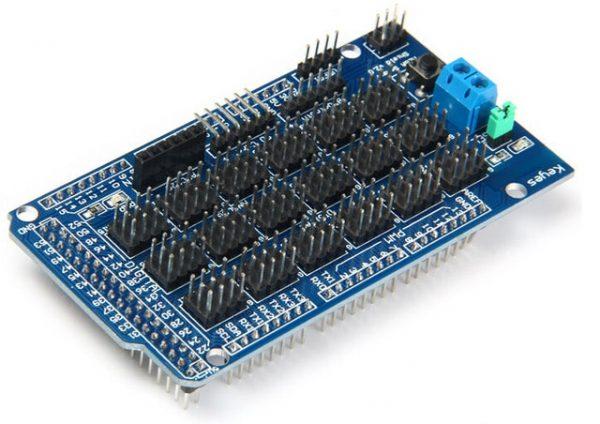 Sensor Shield for Arduino MEGA 2560 R3