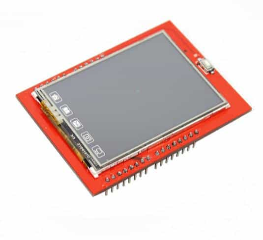 TFT LCD Touch Screen Shield 2.4 inch and microSD