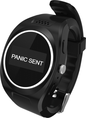 Panic Button GPS Wrist Watch