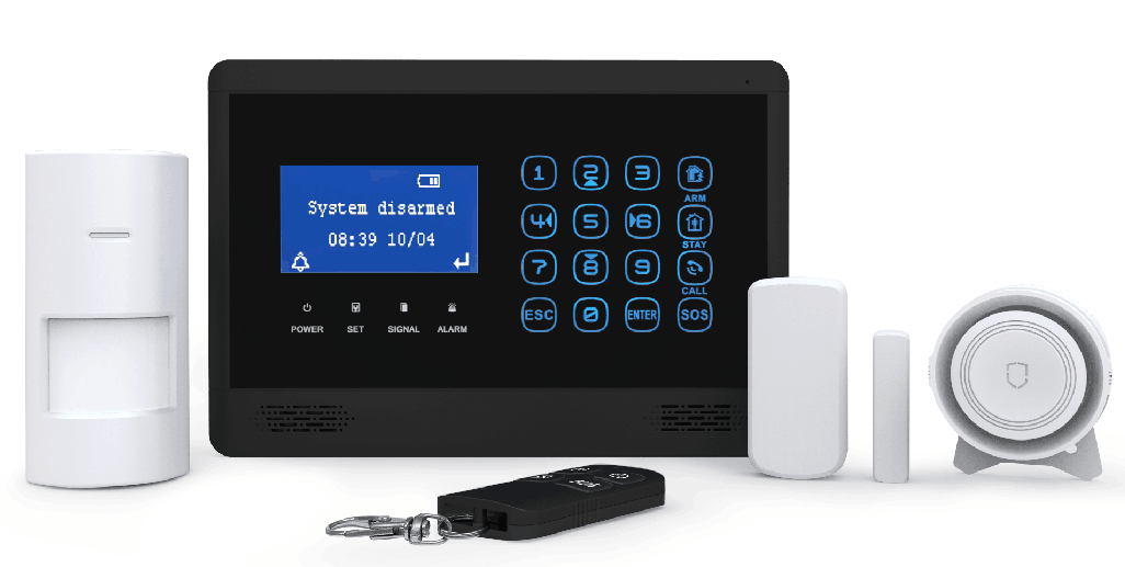 gt10wb gsm and wifi wireless alarm system